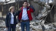 Trudeau besucht zerstörte Stadt