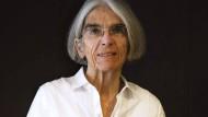 Die amerikanische Krimi-Autorin Donna Leon im Sommer 2015