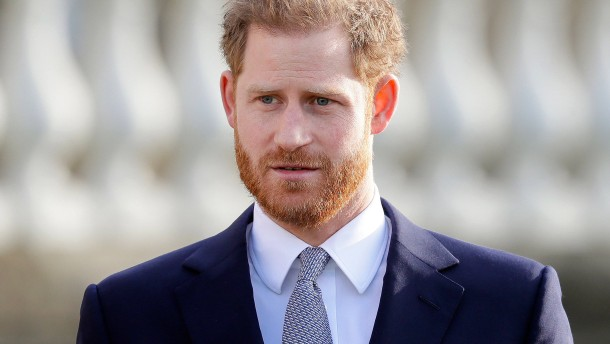 Prinz Harry ist zurück in London