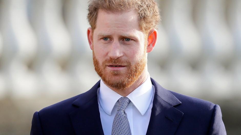 Zurück in London: Prinz Harry (Archivbild)
