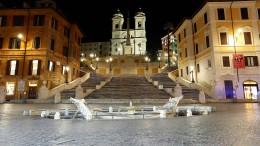 Rom wird zur Geisterstadt