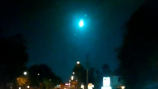Meteorit leuchtet über Florida