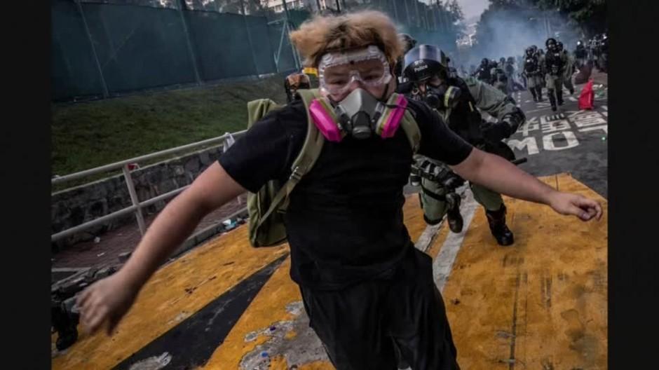 Bilder von Hongkong-Protesten ausgezeichnet