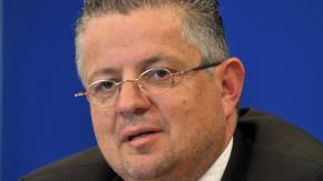 Innenminister Peter Huber