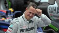 Michael Schumacher: Nach dem Rücktritt ist vor dem Rennen