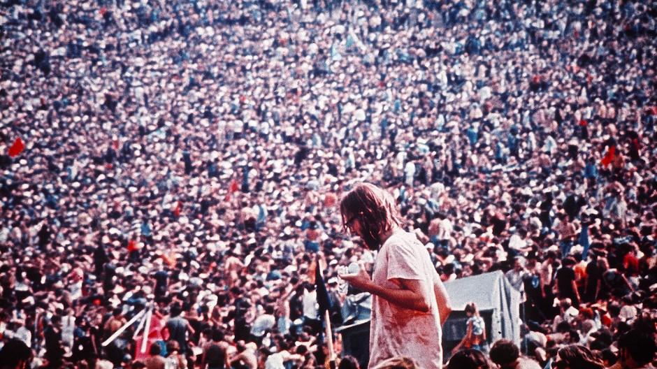 Der Woodstock-Mythos wird 50