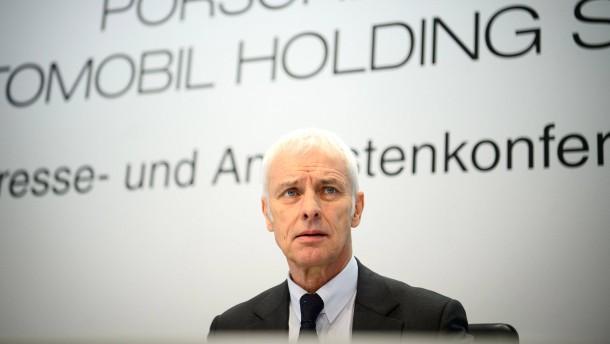 Müller legt auch Posten bei Porsche SE nieder