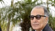 Abbas Kiarostami im Mai 2012 auf den Filmfestspielen in Cannes