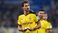 Rückkehrer Mats Hummels treibt den Aktienkurs von Borussia Dortmund. Hier ein Bild aus dem Jahr 2015.