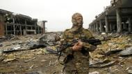 Noch immer nicht befriedet: Donezk im Osten der Ukraine