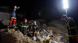 Felsrutsch zerstört Dorf in Südfrankreich