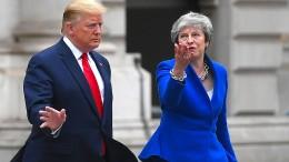 May verurteilt Trumps Angriff auf Demokratinnen