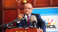 Kotau vor den Chinesen: Zuma am Montag in Durban