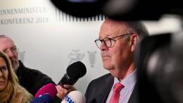 Innenminister: Gefährliche Straftäter nach Syrien abschieben