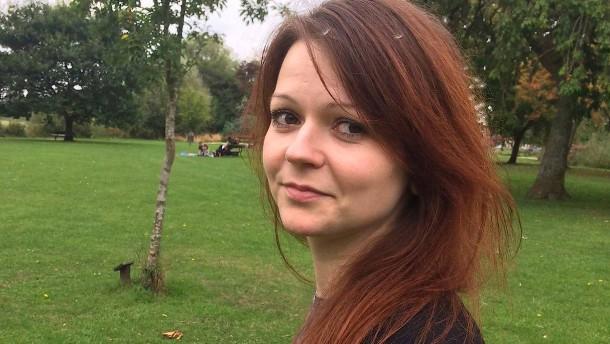 Julia Skripal äußert sich erstmals öffentlich nach Anschlag