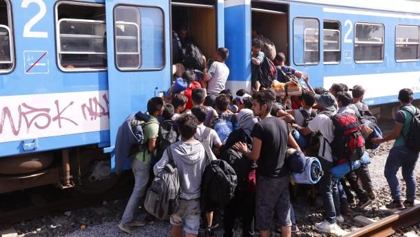 Brüssel will Umsiedlung von Flüchtlingen aus Kroatien ermöglichen