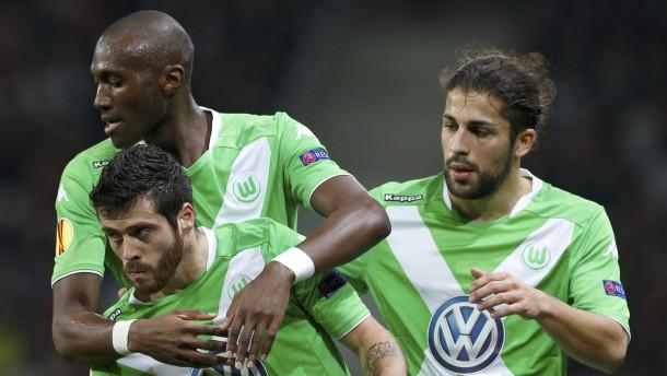 Wolfsburg überwintert international