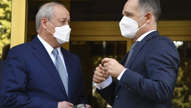 Usbekistan sichert Maas Hilfe bei Evakuierungen zu