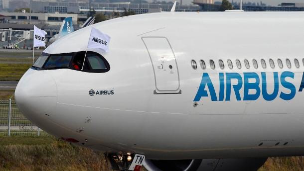 Airbus verfehlt sein Flugzeug-Lieferziel