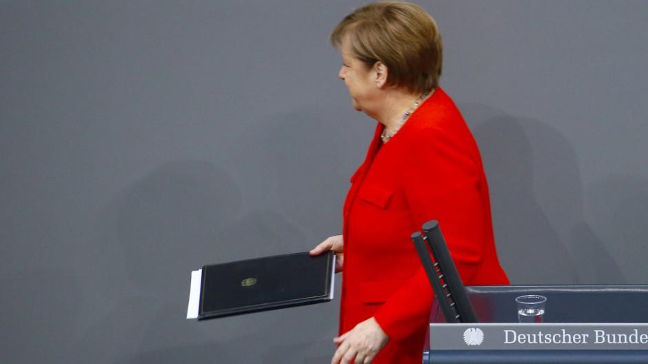 Merkel beklagt mangelnde europäische Abstimmung