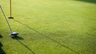 Keine Angst vor dem letzten Schlag: Der Rasen gleicht doch einem Teppich.
