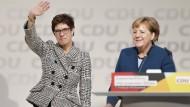 Setzt Annegret Kramp-Karrenbauer den wirtschaftspolitischen Kurs der Sozialpolitiker der Ära Merkel fort?