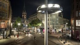 Warum die Mönckebergstraße neue Lichter bekam