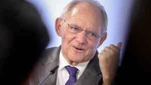 Schäuble als Brandstifter bezeichnet