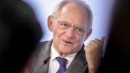 Ein Freund der schwarzen Null: Bundesfinanzminister Wolfgang Schäuble in Berlin am 25.10.2016.