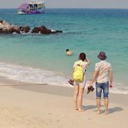 Als Reisen noch Spaß machte: Ein Strandfoto aus Thailand, aufgenommen am 22.2.2020