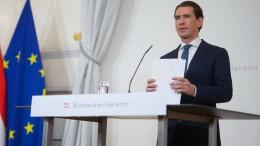 Sebastian Kurz tritt als Bundeskanzler zurück