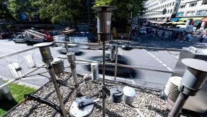 Diesel-Abgas verschmutzt weiter die Stadtluft