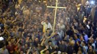 Ägyptische Armee fliegt Angriffe in Libyen