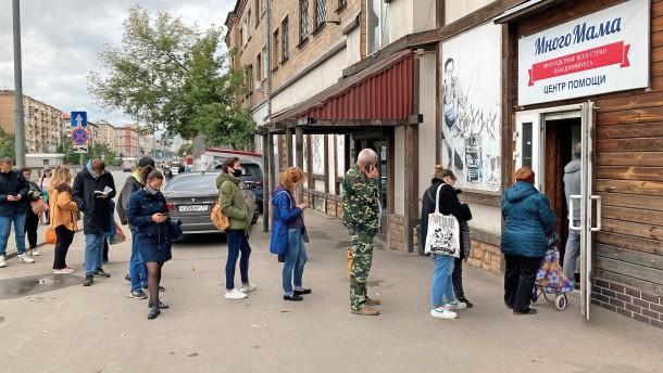 Russlands Armut hinter dem schönen Schein