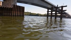 Maroder Abschnitt der Schiersteiner Brücke verschwindet