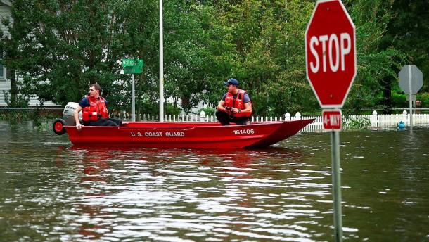 Angst vor Fluten und Dammbrüchen