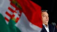 Orbán hob hervor, dass Ungarn einen wichtigen Beitrag für die europäischen Partner leiste, indem es seine Schengen-Außengrenze schütze (Archivbild).