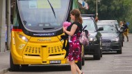 Roboter-Busse in der Schweiz