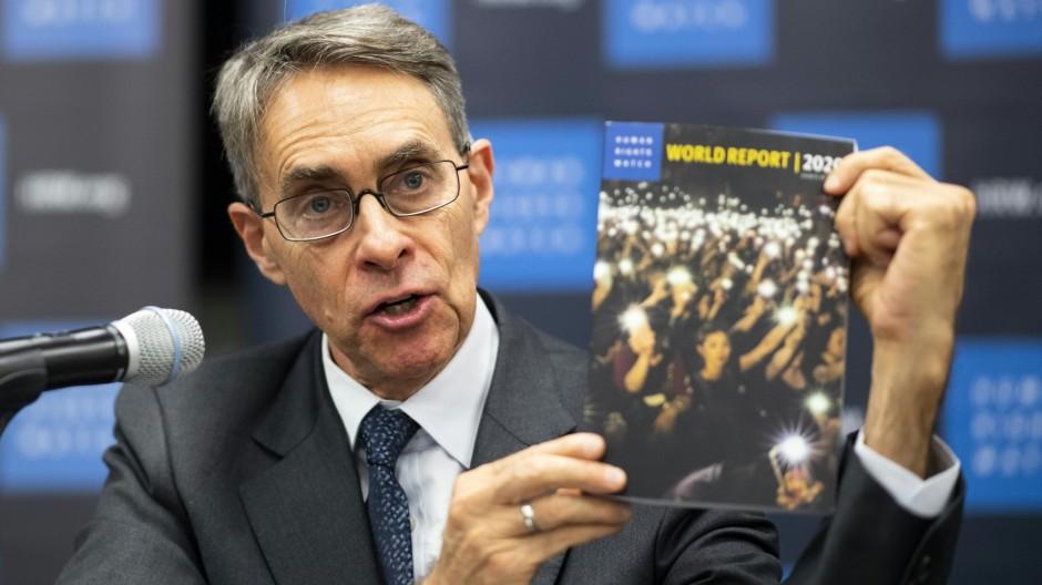 Angriff auf die Menschenrechte
