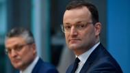 RKI-Präsident Lothar Wieler und Gesundheitsminister Jens Spahn