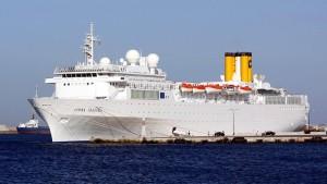 Brand auf einem Costa-Kreuzfahrtschiff