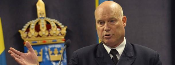 Noch ratlos: Der schwedische Marine-Kommandeur der Marine Anders Grenstad