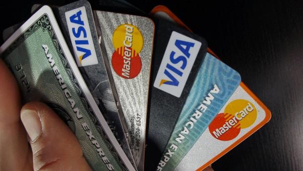 Die goldenen Kreditkarten-Zeiten sind vorbei