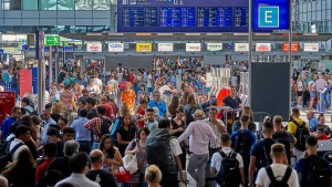 So viele Passagiere wie noch nie in einem Juli