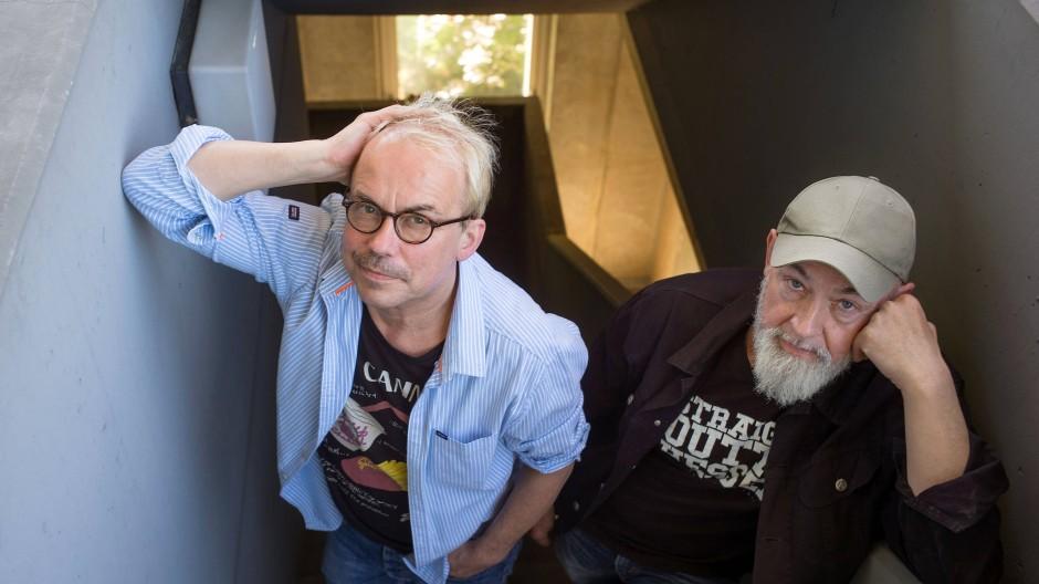 """Komikerduo: Hendrik """"Henni"""" Nachtsheim (links) und Gerd Knebel sind bald 30 Jahre als Badesalz unterwegs."""