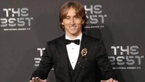 Luka Modric ist Weltfußballer des Jahres 2018