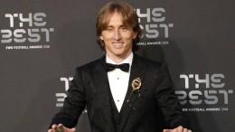 Luka Modric ist Fifa-Weltfußballer des Jahres 2018