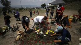 Mexiko beklagt immer mehr Todesopfer