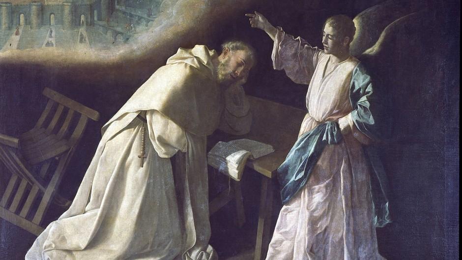 Der Weg ins himmlische Jerusalem ist niemals direkt: Francisco de Zurbarán malte die Vision des Petrus 1629.