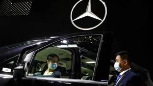 Autobauer hoffen auf China